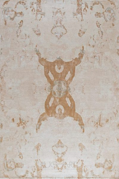 transitional hand knotted rug Eze, rug art international