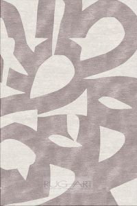beautiful contemporary hand knotted rugs. geometric pattern by rug art international. cream and taupe